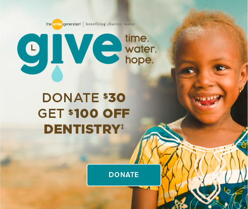 Donate $30, Get $100 Off Dentistry - Reunion Smiles Dentistry